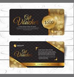 Gift voucher 271 vector