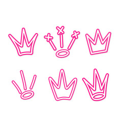Graffiti Crowns Vector Images (over 400)