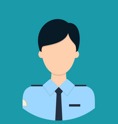 security characte icon great of character use vector image