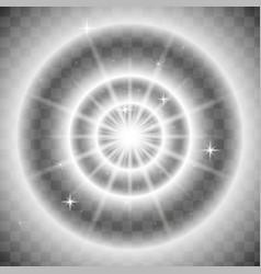 spotlight light effect lightning vector image