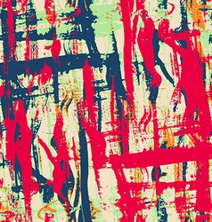 Urban grunge seamless pattern with paint effect vector