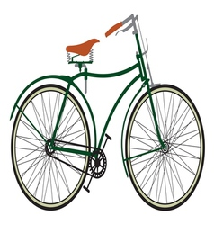 Retro bike3 vector image vector image