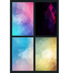 abstract background in style flat vector image vector image