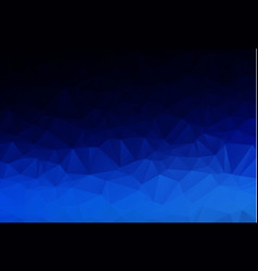 Abstract dark blue polygonal which consist of vector