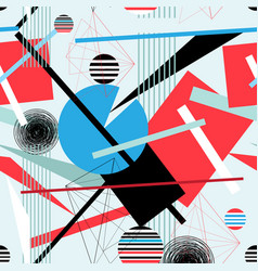 Abstract multi-colored background geometric vector