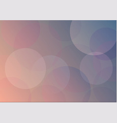 abstract soft color circle background vector image