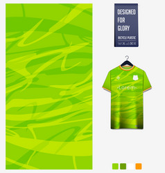 green abstract background jersey fabric pattern vector image