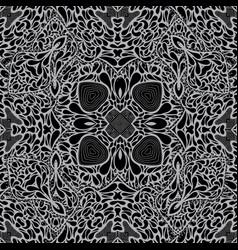 Monochrome seamless background pattern vector