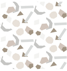 paper cut out shapes tile background vector image