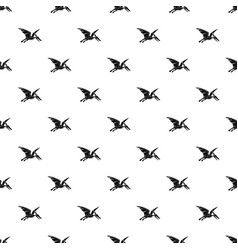 pterosaurs dinosaur pattern vector image