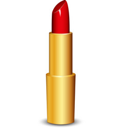 lipstick vector image vector image