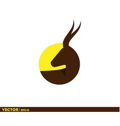 african deer vector image