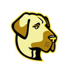 anatolian shepherd dog mascot vector image