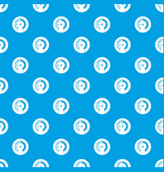 Barometer pattern seamless blue vector