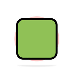 Box checkbox unchecked abstract circle background vector