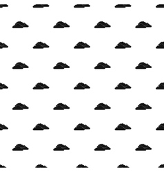 Clouds pattern simple style vector