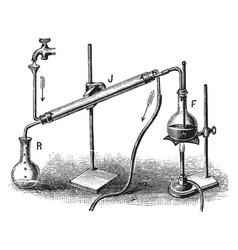 Distilation vintage vector
