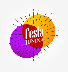 Festa junina elegant background design vector