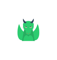 flat icon dragon element of vector image