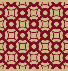 geometric seamless asian style luxury pattern vector image