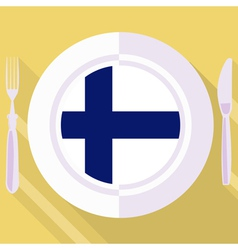 Kitchen of Finland vector