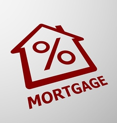 Mortgage stock vector
