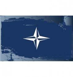 Nato flag vector