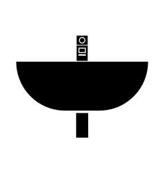 Wash basin vector