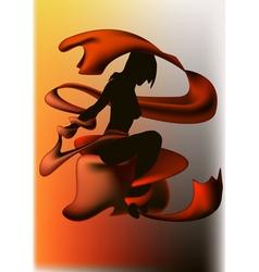 Isadora vector image vector image