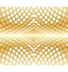 Abstract background circles red gold vector