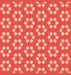 circles dots asian old floral seamless pattern vector image