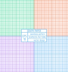 Graph paper pattern vector image