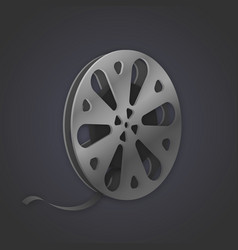 image of a tape reel vector image