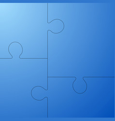 puzzle icon background eps 10 vector image