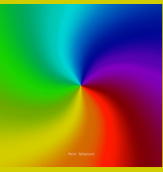 rainbow background modern simple long rainbow vector image