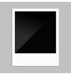 Polaroid photo vector image vector image