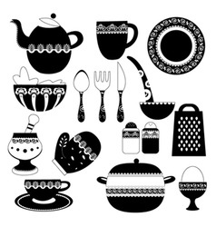 kitchen utensil vector image vector image
