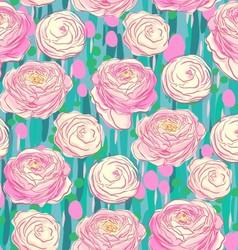Blooming flowers vector image