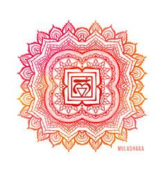 chakras coloring chakra vector image