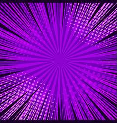 Comic book page purple concept vector