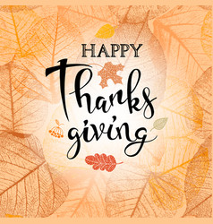 Festive thanksgiving day background vector