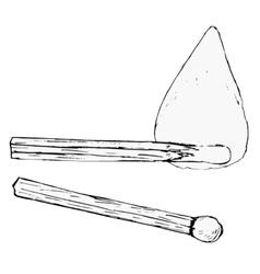 Match sticks vector