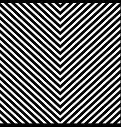 Repeatable geometric pattern with slanting vector