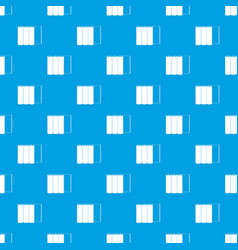 rolls of paper pattern seamless blue vector image