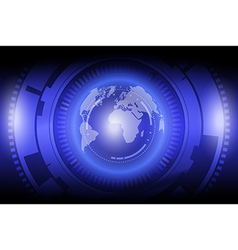globalization technology vector image