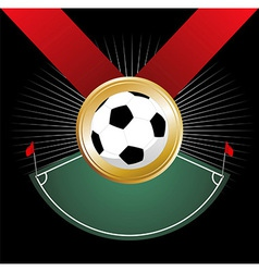 Championship medal vector image