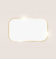 gold shiny glowing luxury greeting card vector image