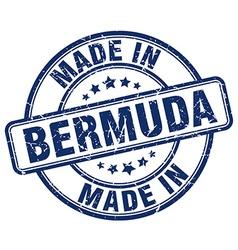 made in Bermuda vector image