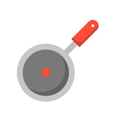 pan fried icon flat design isolated vector image