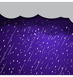 Rain clouds 2 vector
